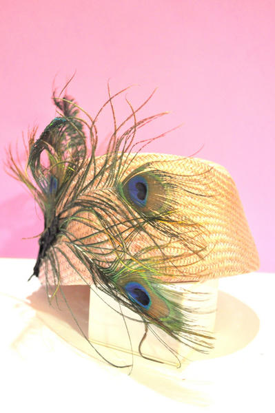 Headpiece Peafowl | Hauterent