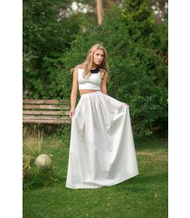 White Domenika Skirt | Hauterent