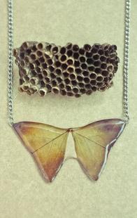 Necklace Butterfly by Pine Top Craft | Hauterent