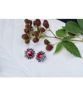 Earrings Red Wine | Hauterent